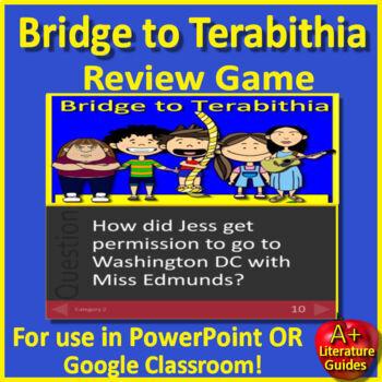 Bridge to Terabithia Jeopardy Game