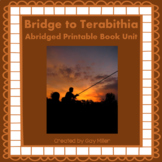 Bridge to Terabithia Abridged Novel Study: vocabulary, com
