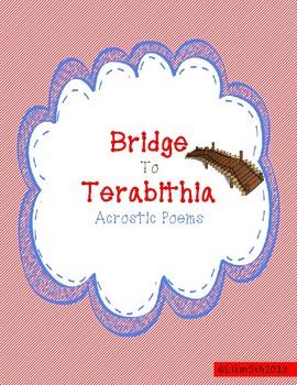 Bridge to Terabithia Acrostic Poems