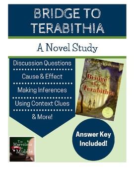 Bridge to Terabithia Book Study - Common Core Aligned