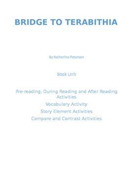 Bridge to Terabithia Book Unit