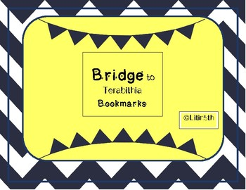 Bridge to Terabithia Bookmarks for Book Clubs