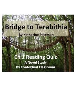 Bridge to Terabithia Ch.1 Reading Quiz