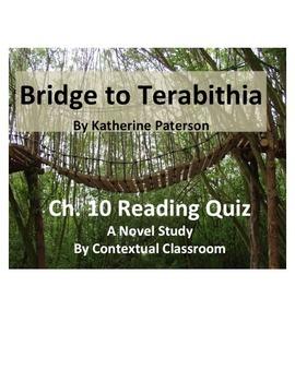 Bridge to Terabithia Ch.10 Reading Quiz
