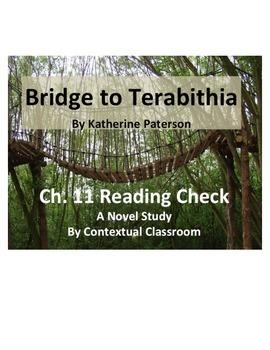 Bridge to Terabithia Ch.11 Reading Quiz