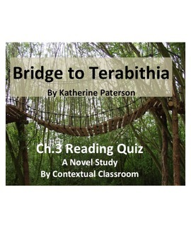 Bridge to Terabithia Ch.3 Reading Quiz