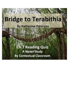 Bridge to Terabithia Ch.7 Reading Quiz