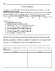 Bridge to Terabithia Chapter 1-2 Short Response with Rubric & Editing Assignment