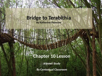Bridge to Terabithia Chapter Ten  Lesson