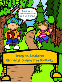 Bridge to Terabithia Character Change Tree Craftivity