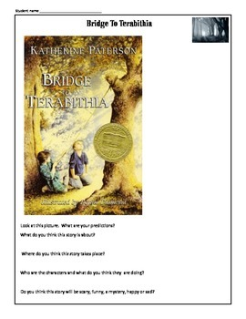 Bridge to Terabithia Common Core Aligned : 43 worksheets and activities
