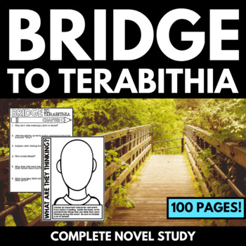 Bridge to Terabithia Novel Study Unit with Questions and Activities