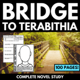 Bridge to Terabithia Novel Study Unit with Questions and A
