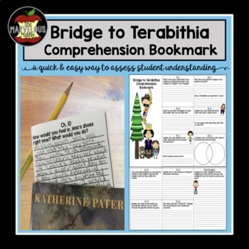 Bridge to Terabithia Comprehension Bookmark