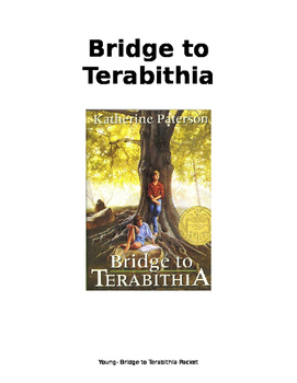 Bridge to Terabithia Comprehension Packet! Modified for Special Needs Students