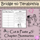 Bridge to Terabithia- Cut and Paste- Chronological Order