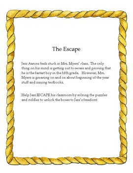 Bridge to Terabithia: Escape Mrs. Myers' Class