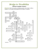Bridge to Terabithia: Figurative Language Crossword—Fun an