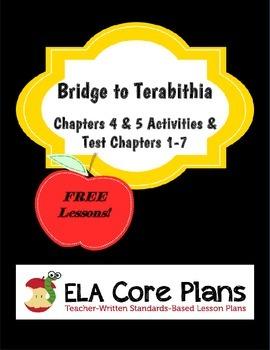 Bridge to Terabithia Free Activities and Test
