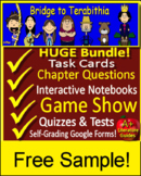 Bridge to Terabithia Distance Learning FREE Quiz: SELF-GRADING GOOGLE FORMS LINK