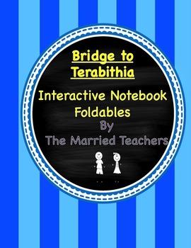 Bridge to Terabithia Interactive Literature and Grammar Foldables