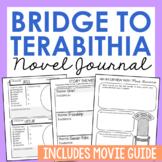Bridge to Terabithia Interactive Notebook Novel Unit Study Activities, Project