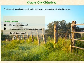 Bridge to Terabithia Introduction and Chapter One Lesson