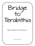 Bridge to Terabithia Lit Pack
