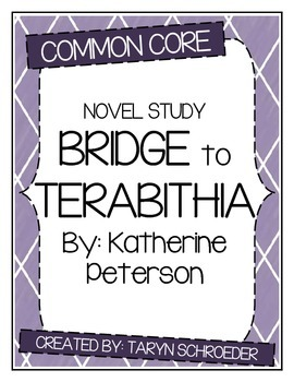 Bridge to Terabithia - Novel Study