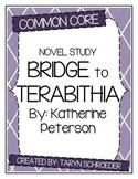 Bridge to Terabithia - Novel Study