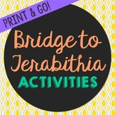 Bridge to Terabithia Novel Unit Study Activities, Book Com
