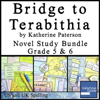 Bridge to Terabithia Novel Study Bundle