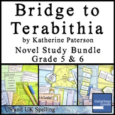 Bridge to Terabithia Novel Study Bundle