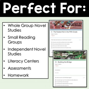 Bridge to Terabithia Novel Study - Chapter Assessments