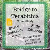Bridge to Terabithia Novel Study {Slides and Student Discussion ?'s}