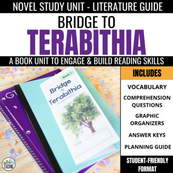 Bridge to Terabithia Foldable Novel Study Unit