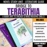 Bridge to Terabithia Novel Study Unit