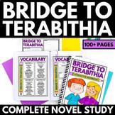 Bridge to Terabithia Novel Study Unit | Questions | Activi