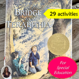 Bridge to Terabithia Novel Study for Special Education