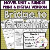 Bridge to Terabithia Novel Unit
