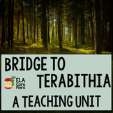 Bridge to Terabithia Novel Unit ~ Activities, Handouts, Lesson Plans, Tests