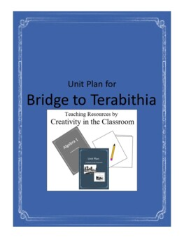 Bridge to Terabithia Novel Unit Plus Grammar