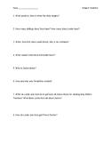 Bridge to Terabithia Quiz/Guided Questions