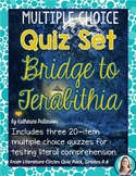 Bridge to Terabithia Quiz Set * Novel Quizzes