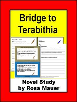 Bridge to Terabithia Novel Study