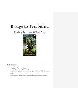 Bridge to Terabithia Reading Response Questions