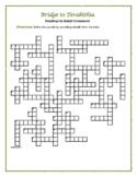 Bridge to Terabithia: Reading-for-Detail Crossword—Based on the Book!