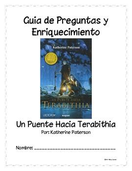 Bridge to Terabithia Spanish Novel Study (Un puenta hacia Terabithia)