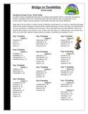 Bridge to Terabithia Spelling Vocabulary Word Study Activity