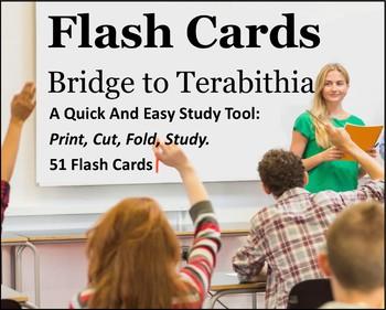 Bridge to Terabithia Study Flash Cards